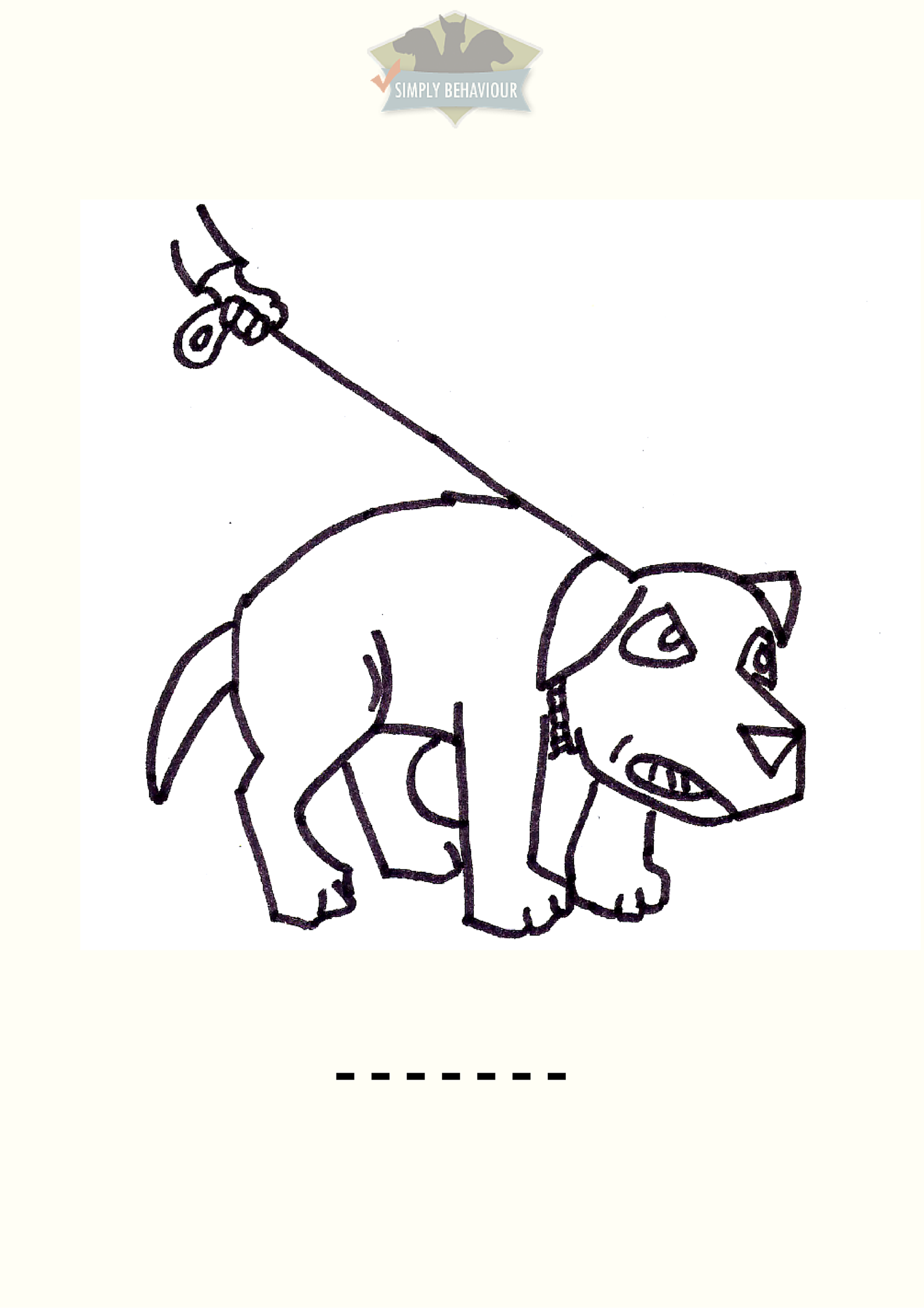 Children\'s Colouring Book & Word Quiz On Dog Body Language - Simply ...
